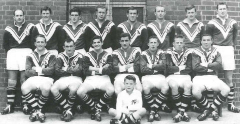 1962 Reserve grade GF team photo