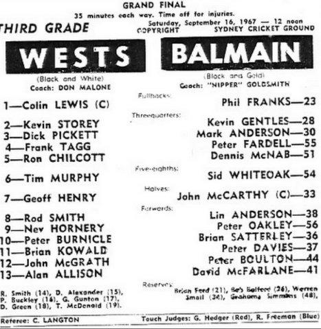 1967 3rd grade GF program