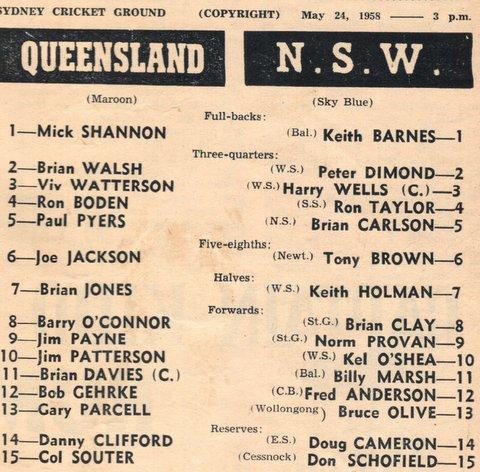 1950 QLD v NSW