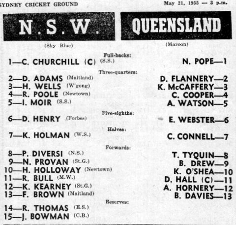1955 nsw v queensland may