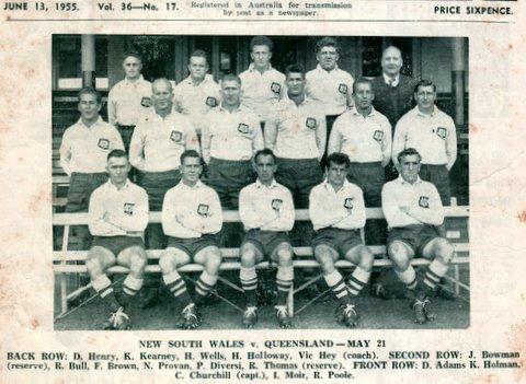 1955 photo nsw v qld
