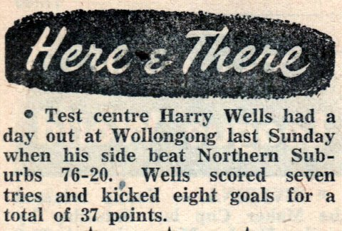 1955 story about harry wollongong