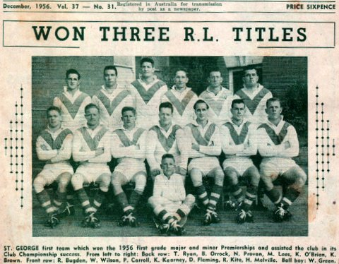 1956 saints winners