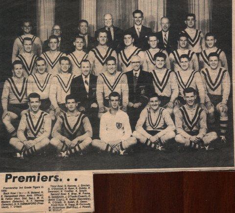 1956 third grade premiers Balmain