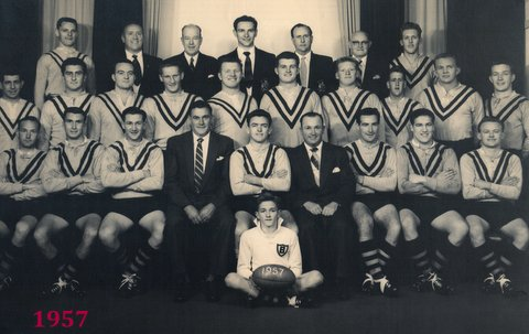1957 third grade team balmain