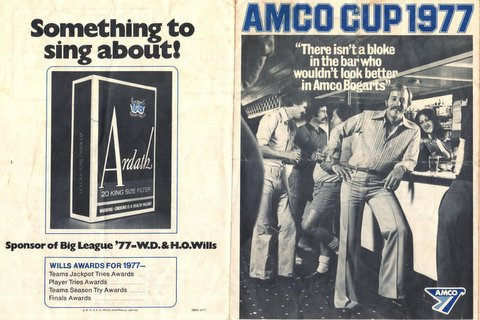 Amco Cup program and Alan Webb story 1967 002