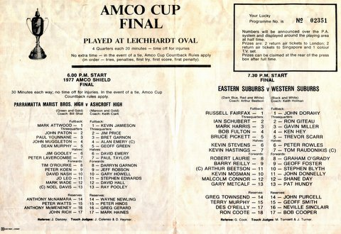Amco Cup program and Alan Webb story 1967 003