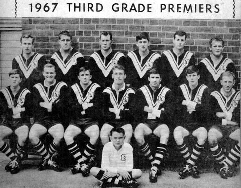Wests 1967 Third Grade Premiers team pic