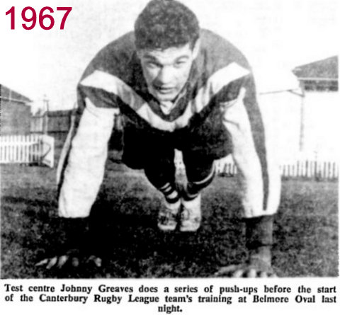 johnny Greaves 1967