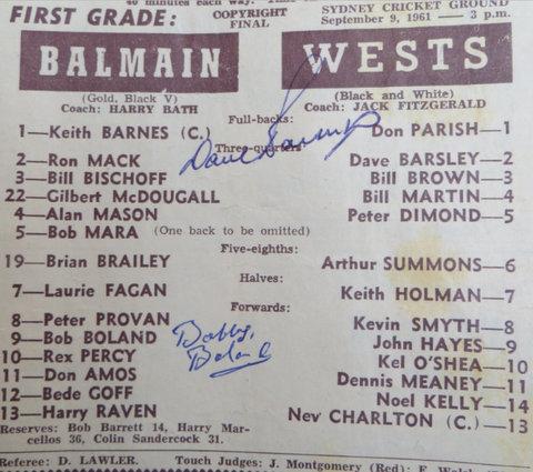 1961 balmain v wests