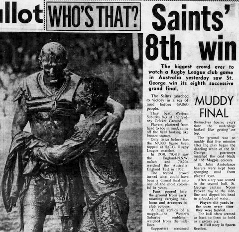 Wests Grand Final History.
