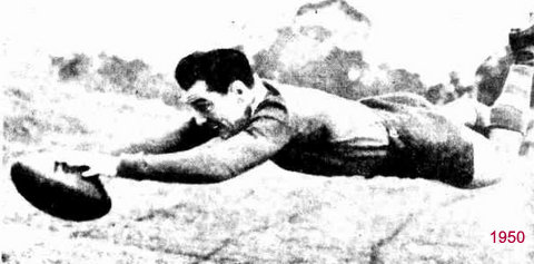 1950 try at training