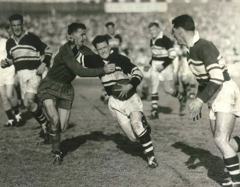1957 semi final v souths last game