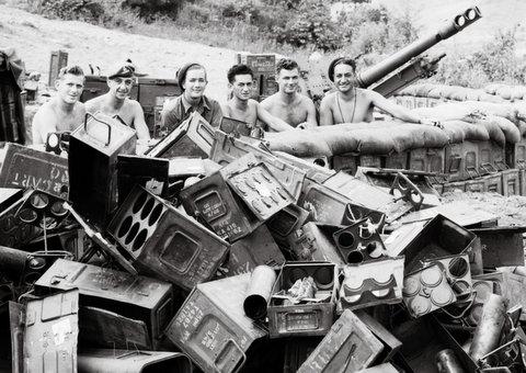 new zealand gunners 1951