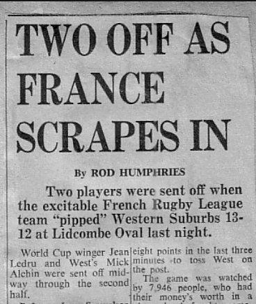 1968 wests v france 10