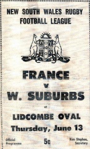 1968 wests v france pro
