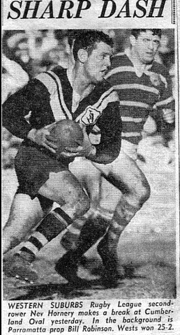 1968 wests v parr photo of nev