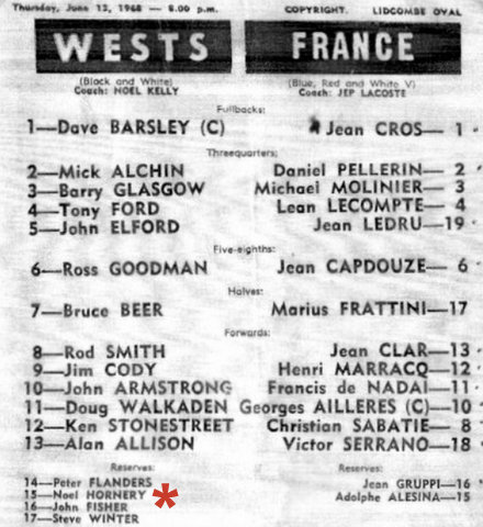 1968 wesy sv freance pro