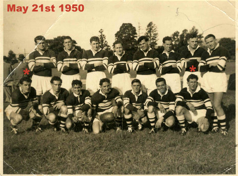 1950 combined reserve grade and 3rds @ berry