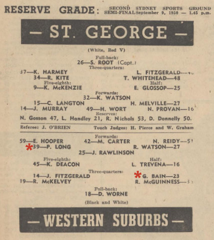 1950 semi prog v saints
