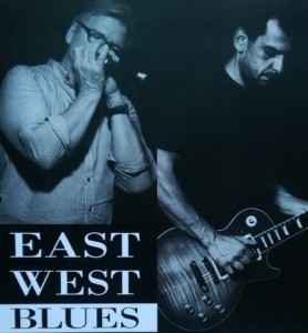 east west blues poster