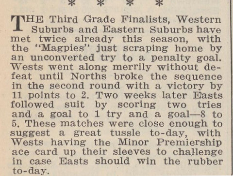 1938 RLN game mention