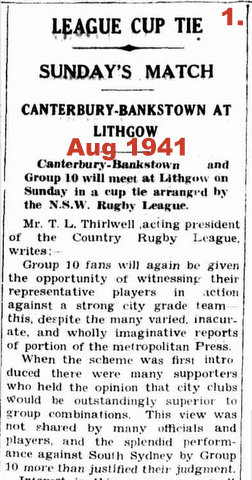 1941 group 10 playing canterbury 1