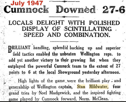1947 wellington v cumnock