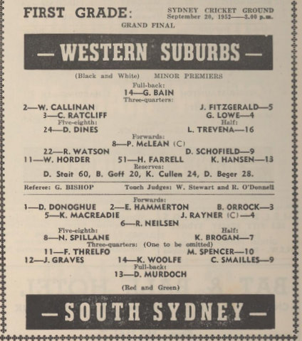 1952 gf program