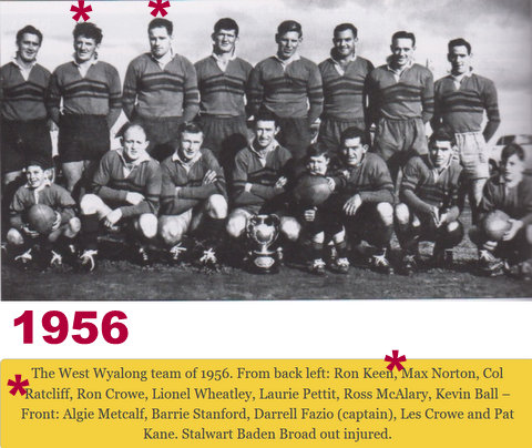 1956 WW team