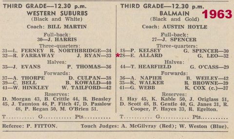 1963 program wests v balmain