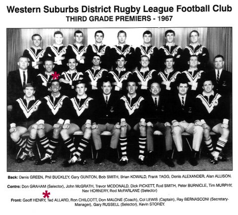 Wests 1967 Grand Final photo