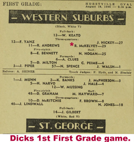 1946 dick 1st first grade game