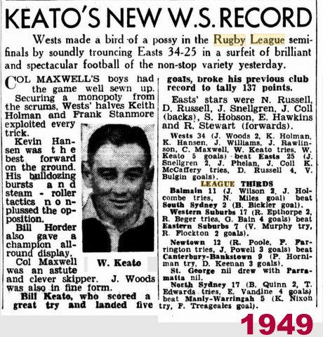 1949 bill keato