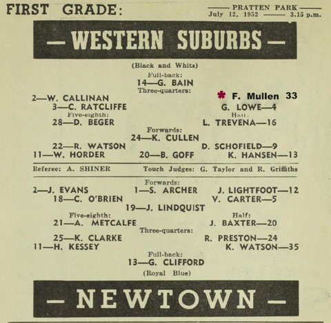 1952 wests v newtown fixed to show fred