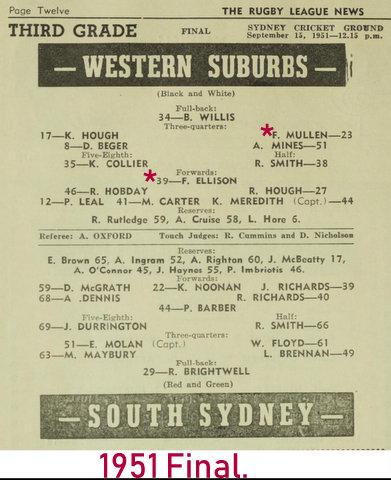 1951 final wests v souths