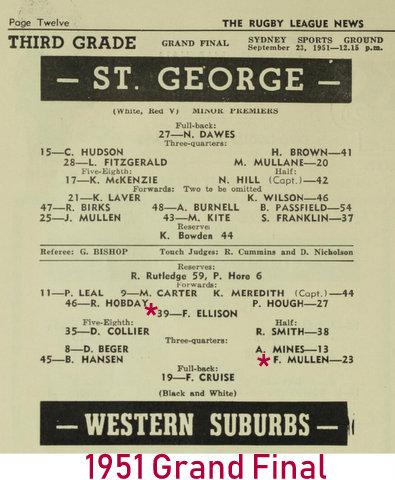 1951 grand final wests v stg