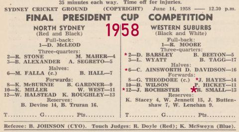 1958 final program