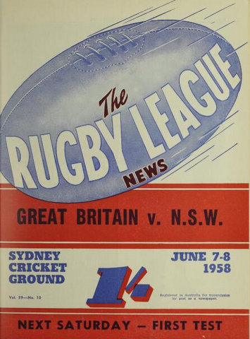 1958 nsw v gb cover