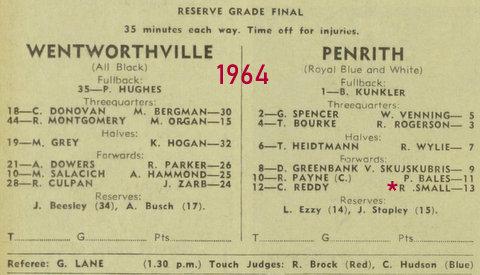 1964 r grade GF Penrith v Wenty