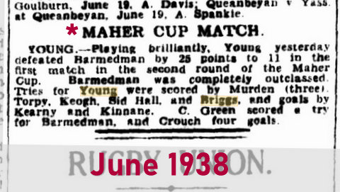 1938 june maher cup