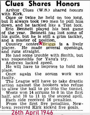 1946 april 26 good story Briggs