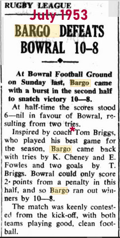 1953 game report.
