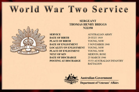 war service