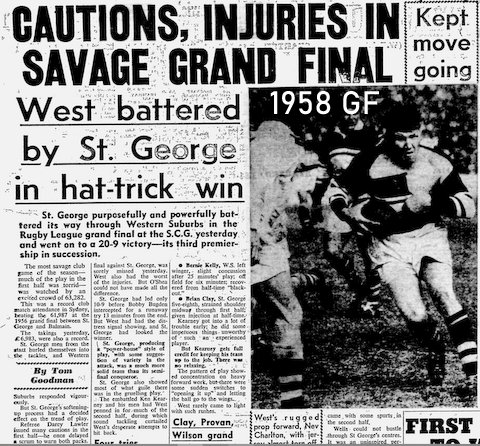 1958 GF story Wests battered by StG