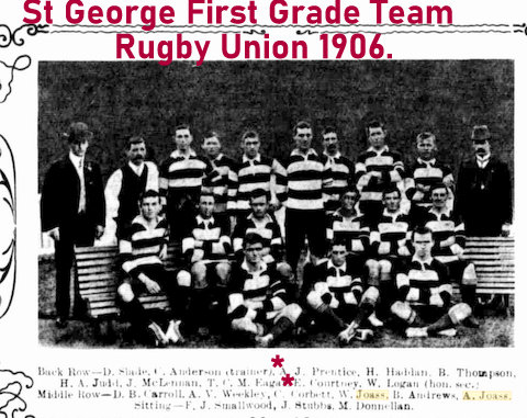 1906 team photo saints both brothers