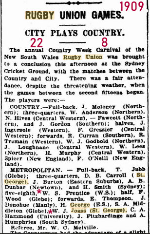 1909 city v country