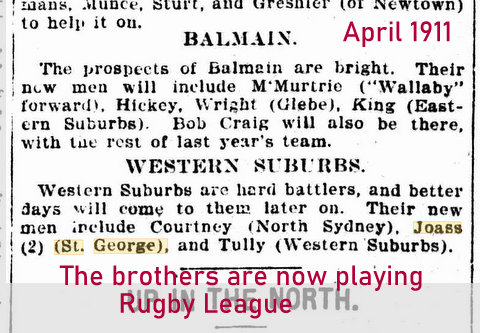 1911 joass brothers playing rl