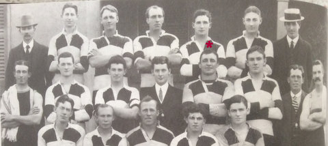 1914 team photo