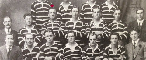 1917 team photo